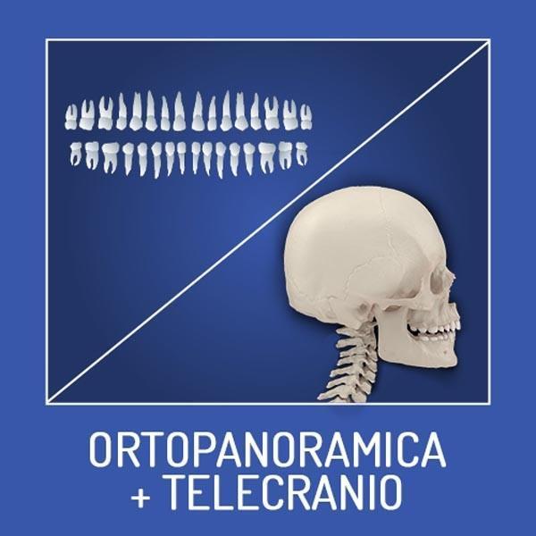 Ortopanoramica + telecranio